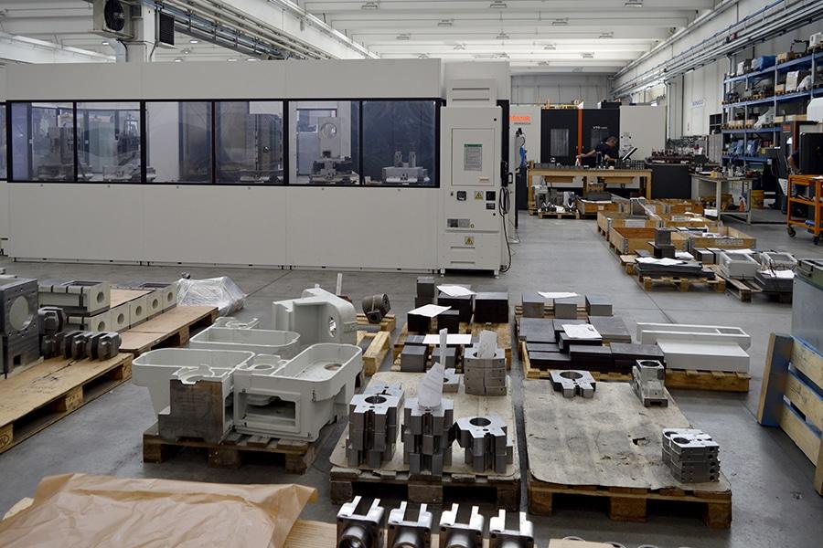 Sinico azienda interni produzione officina 2