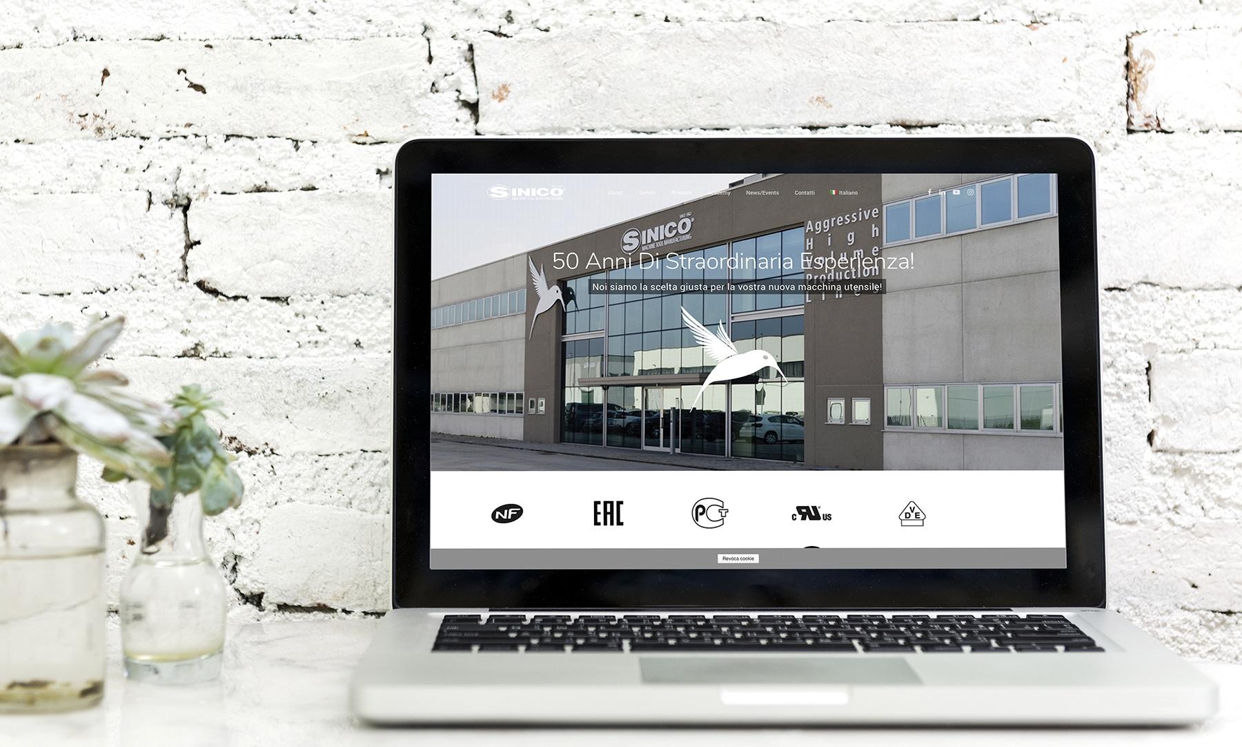 Nuovo sito web per Sinico